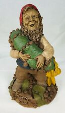 #1 Signed Tom Clark Gnome Cheer with Wreath #5175 Cairn Studio COA & Story Card