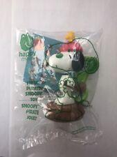 PEANUTS MCDONALD'S 2018 Fierce Pirate Snoopy Toy NIP