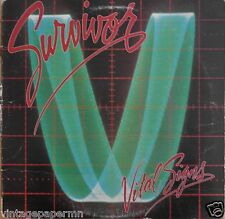 Survivor Vital Signs 1984 Vinyl LP Scotti Bros. Records FZ 39578