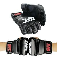 UFC Gloves MMA Fighting Training Sparring Punching Bag Boxing Gloves Black