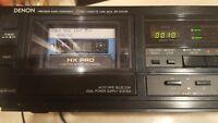 DENON DR-M10HR HX PRO 3 Motor Stereo Cassette Deck Player Recorder
