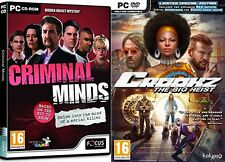 Criminal Minds & crookz the big heist special edition  new&sealed