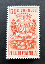 VENEZUELA  496  Beautiful  Mint  Light  Hinged  Issue  gd 145