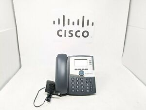 Cisco Small Business SPA303 Series 3 Line IP Phone W/ power adapter And Stand
