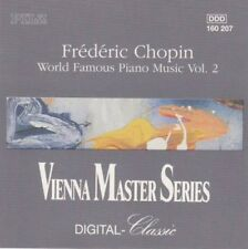 Frederic Chopin - World famous piano music vol. 2 - CD -
