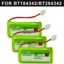 3x 800mAh 2.4V Phone Battery for Uniden BT-1011 BT-1018 DECT 6.0 V-Tech BT8300