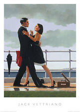 ANNIVERSARY WALTZ ART PRINT BY JACK VETTRIANO romantic dancers wall decor poster