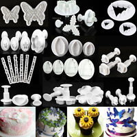 30 Styles Fondant Cake Cutter Plunger Cookie Mold Sugarcraft Flower Decor Molds