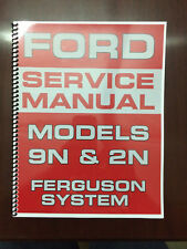 Heavy equipment manuals books for sale ebay ford 9n 2n tractor service manual ferfuson system engine electrical transmission fandeluxe Choice Image