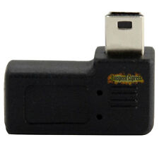 USB 2.0 Mini A 5 Pin male Left angle to Micro B 5 Pin Female Adapter convertor