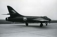 Transport Großformat 25 X 19cm Fotografie Flugzeug Hawker Siddeley Hunter Prototyp