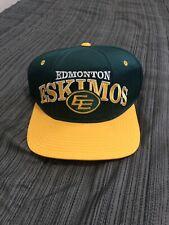 Vintage Starter Edmonton Eskimos Snap Back Hat Cap ***broken***