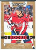 2017-18 Upper Deck Compendium GOLD ROOKIE RC Christian Djoos  #874