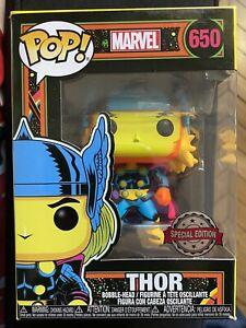 Funko Pop Marvel Thor Spécial Edition - 650