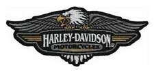 Harley-Davidson Embroidered Vintage Logo Emblem Patch, 5.125 x 2.125 in EM289883