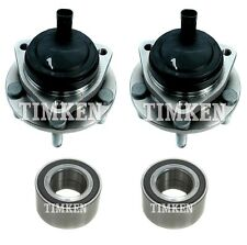 Front and Rear Wheel Bearings & Hubs Kit Timken For Chevrolet Caprice RWD 11-13