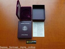 NO COIN: 1993 P PROOF SILVER EAGLE BOX/COA OGP ONLY BUY 2 GET 3RD FREE!
