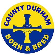 County Durham - NATO & BRED - Fun AUTO / Interno Finestra adesivo +1 FREE