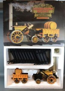 """Hornby real Live Steam Gas fired powered 3.5"""" gauge scale Stephensons Rocket set"""