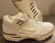Nike Zoom Generation Low Sz 9 White - air lebron 2004 1 i ii vintage