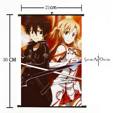 Japan Anime Sword Art Online Asada Home Decor Poster Wall Scroll 21*30cm 32 new