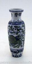 Vase handbemalt Höhe ca. 19 cm