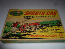 VINTAGE BOXED INTERNATIONAL SPORTS CAR RACING GAME MARX SPEEDWAYS NO 22650 CIB