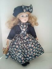 """Vintage Tuss Collectible Porcelain 16"""" Doll"""