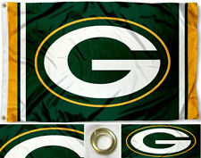 Green Bay Packers Flag ~ Large 3'X5' ~ NFL Banner ~ FREE SHIPPING