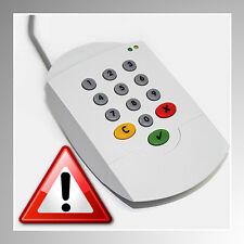 CHIPDRIVE® pinpad pro USB ~ NEU ~ HBCI-Chipkartenleser ~ Sicherheitsklasse 2