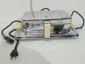 MANNING BROWN VINTAGE WAFFLE IRON/GRIDDLE/SANDWICH PRESS