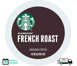 Starbucks French Roast Keurig Coffee K-cups YOU PICK THE SIZE