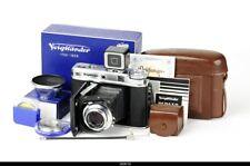 Camera Folding Rangefinder Voigtlander  Perkeo E 6x6 with Color-Skopar Mint Box