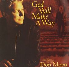 God Will Make A Way: Best of - Don Moen (CD+DVD, Integrity) - FREE SHIPPING