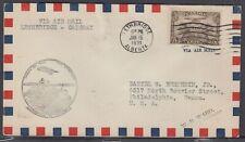 Canada FFC - Jan 15, 1931 Lethbridge to Calgary, AB