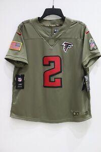 NWT Nike Women's Salute To Service Atlanta Falcons Jersey NFL Matt Ryan #2 Large