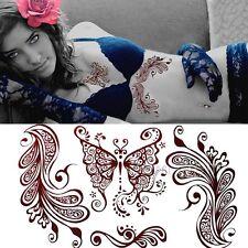 Schmettling Wasserfest Einmal Körper Aufkleber Hauttattoo Body Art Tattoo