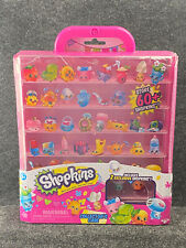 Shopkins Collector's Case with 2 Exclusive Figures - New