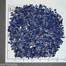 LAPIS LAZULI Afghanistan 5-15mm xmini-xsmall 1/2 lb tumbled bulk stones