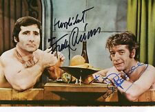 Freddy Quinn & Rudi Carrell+ - original Signierung auf schönem Großfoto TOP RAR