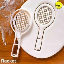 Badminton Racket cookie cutter   racquet sports game tournament training coach