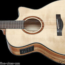 Teton STA130SMCENT Acoustic Electric Guitar ONLY, Solid Spruce & Spalted Maple
