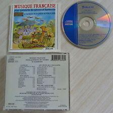 CD MUSIQUE FRANCAISE POUR QUINTETTE DE CUIVRES ET HARMONIE 27 TITRES 1991
