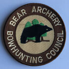 NOS Vintage Fred Bear Archery Bowhunting Council Patch Traditional & Recurve Bow