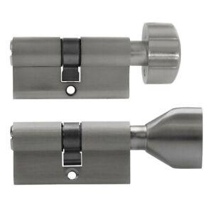 2 -10x Knob Cylinder 60mm 30/30 Door Zylinder Lock Keyed Alike