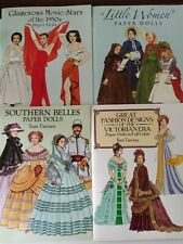 Lot Of 4 Paper Dolls Books By Tom Tierney