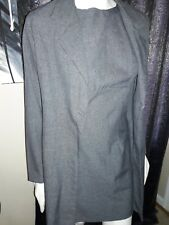 Women's 2 Piece BEWARE Size 9 Grey Dress/Jacket