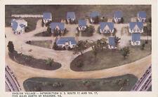 Roanoke VA * English Village Cottages 1950s * Rt. 11  Motor Court