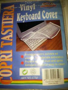 COPRI TASTIERA PC  COMPUTER   KEYBOARD COVER          FESTIVANYA