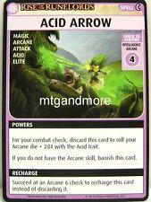 Pathfinder Adventure Card Game - 1x Acid Arrow - Character Add-On